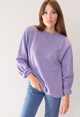 Vintage Pastel Purple Sweater
