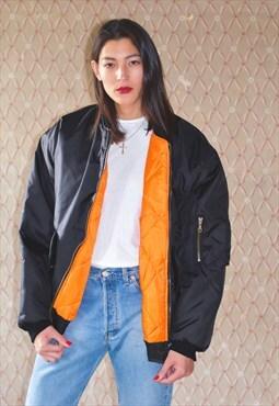 Vintage 90s bomber jacket