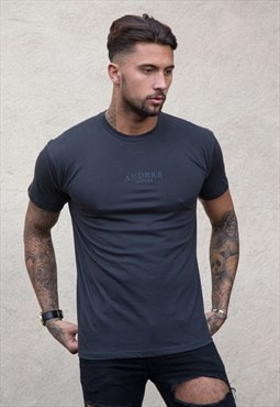 Midnight Embroidered T-Shirt