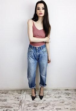 80's Vintage Levi's 501 Jeans r4s155