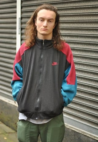 VINTAGE NIKE ZIP THROUGH SWEATER