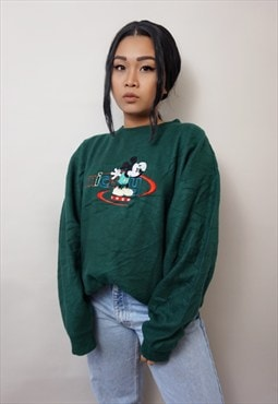 Vintage Mickey Mouse Long Sleeve Sweater / Sweatshirt