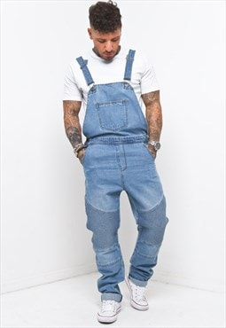 Liquor n Poker - Biker Dungaree