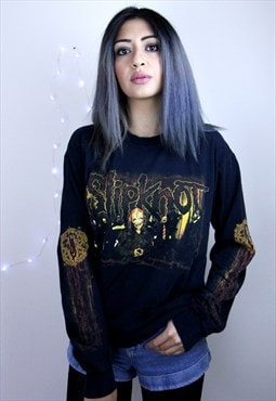 Vintage Unisex Slipknot Long Sleeve Tee