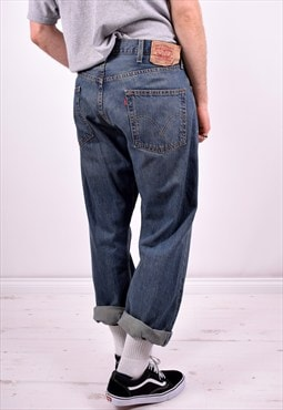 Levi's 501 Mens Vintage Jeans W38 L30 Blue 90's