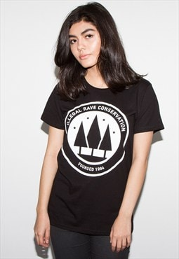 Illegal Rave Women's Black T-shirt
