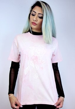 Wilted Rose Tie Dye Tee