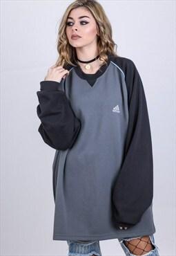 Vintage Oversize Adidas Sweatshirt