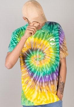Vintage TYE & DYE  t shirt T002