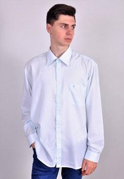 Vintage 90' blue classic shirt