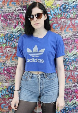 Adidas Reworked Crop Top. Festival.