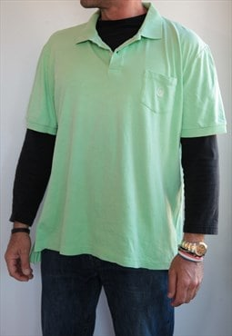 CHAPS Light Green Polo shirt. Size XL.