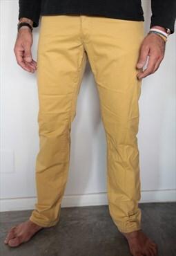 Pierre Gradin Jeans Mustard Yellow pants.