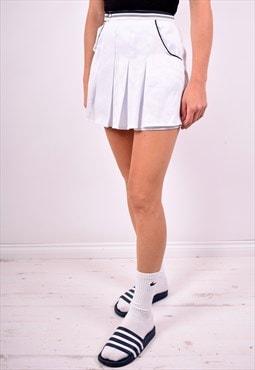 Adidas Womens Vintage Shorts W24 White 90's