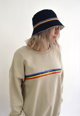 G&G Rainbow Navy Bucket Hat