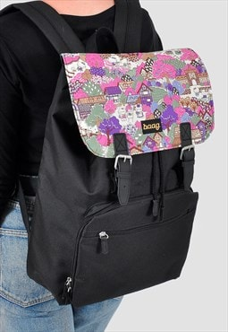 Hello Kitty Panel Laptop Backpack