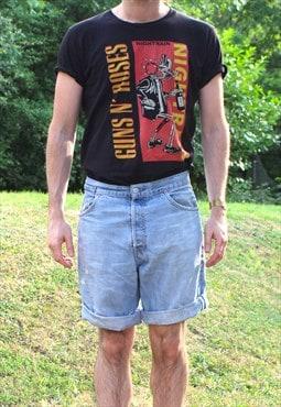 Vintage LEVI'S Denim Cut off shorts - 32 Waist - Festival