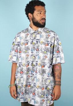 Vintage Crazy Pattern Shirt ASM1174