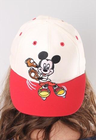 VINTAGE MICKEY MOUSE BASEBALL CAP HAT