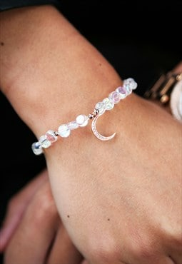 Rose Gold Moon Bracelet