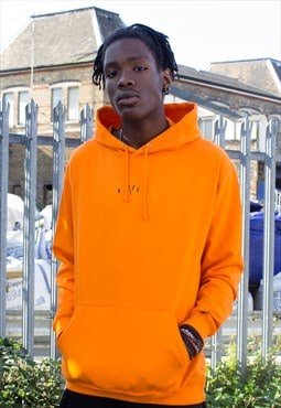 NEW IN - Orange Crush Logo Hoodie