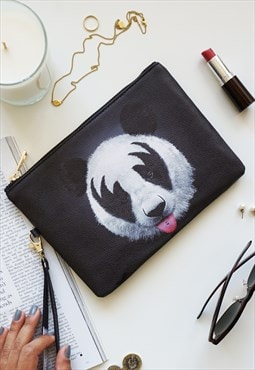 Panda Pouch / Make Up / Accessory / Clutch Bag