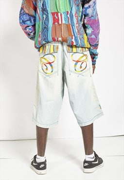 RARE Vintage 90s Coogi Denim Shorts