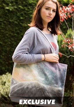 EXCLUSIVE Galaxy over the Mountain, Recycled Cotton Shopper