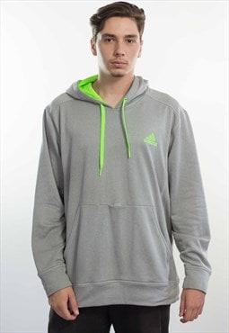 Vintage Adidas Logo Sweatshirt Hoodie 90s Xl 13.7