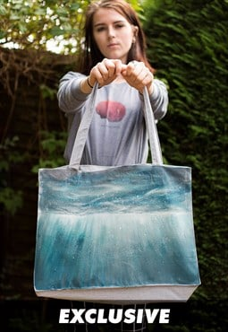 EXCLUSIVE Underwater, Recycled Cotton Shopper Bag