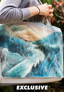 EXCLUSIVE Snowy River, Recycled Cotton Shopper Bag