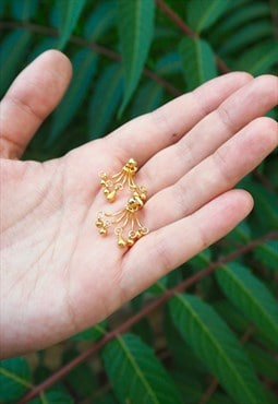GOLDEN Ear Jacket Earrings