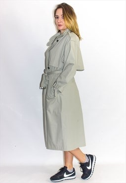 Vintage Fitted Belted Trench Coat