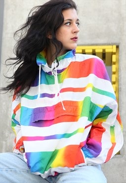 Vintage Stripes Rainbow Jacket