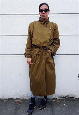 80s Mac Rain Trench Coat
