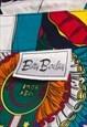 VINTAGE 90'S COLOURFUL PRIZE MEDAL PATTERN BAROQUE SHIRT