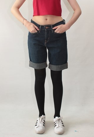 VINTAGE 90' AMAZING CLASSIC COOL BLUE SHORTS