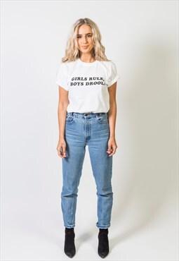 Girls Rule, Boys Drool T shirt