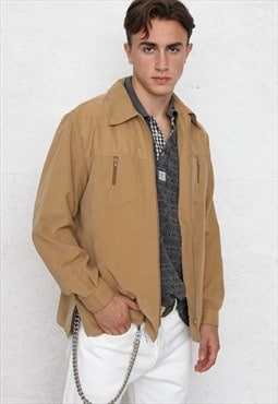 Vintage Brown M. MODE Polyester Jacket