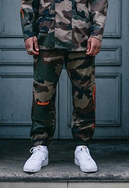 Camo Trousers /BAAD  Military Trousers new (no vintage )