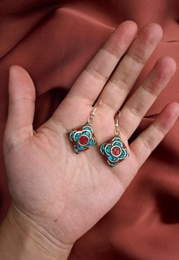 REGAL Mosaic Drop Earrings
