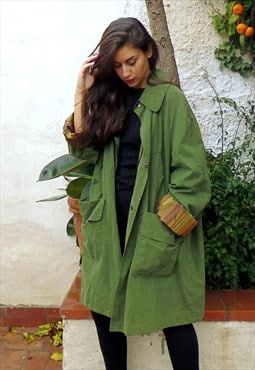 Vintage winter trench
