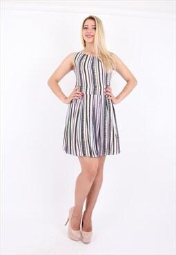 Pleated A Line Flare Skirt Dress