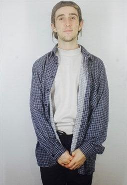Vintage Check Flannel Shirt