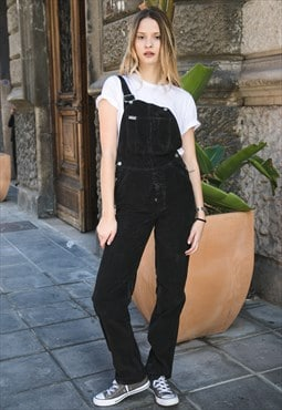 Vintage Overalls velvet dungaree from deadstock Cod.11-32