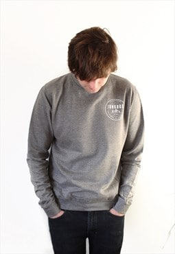 Established UNISEX supersoft slim fit Sweatshirt in Grey