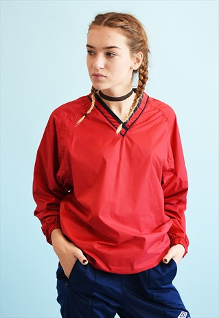 Y2K SPORTS TRACKSUIT ATHLEISURE THIN SHELL JACKET