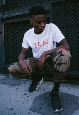 CAMO TROUSERS /BAAD  Recycled Military  Trousers