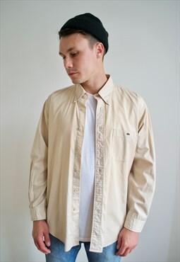 Vintage 90's Lacoste Plain Shirt