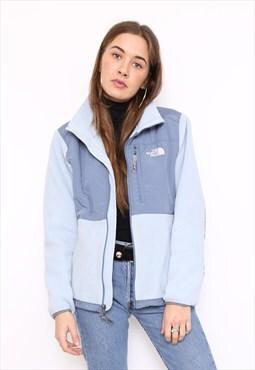 The North Face Baby Blue Fleece Outdoor Jacket